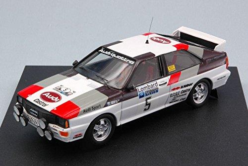 AUDI QUATTRO N.5 WINNER R.A.C.1981 H.MIKKOLA-A.HERTZ 1 43 - Trofeu - Auto Rally - Die Cast - Modellino