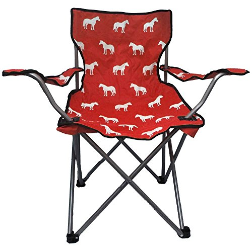Chicks Saddlery Horse Print Kid's Folding Camp Chair for $<!--$18.99-->