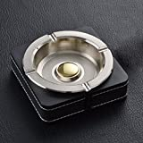 Ashtray The Ashtray Creative Personality Of European Classical Luxurious Living Room Home Office Table Ashtray Men Metal Ornaments,A