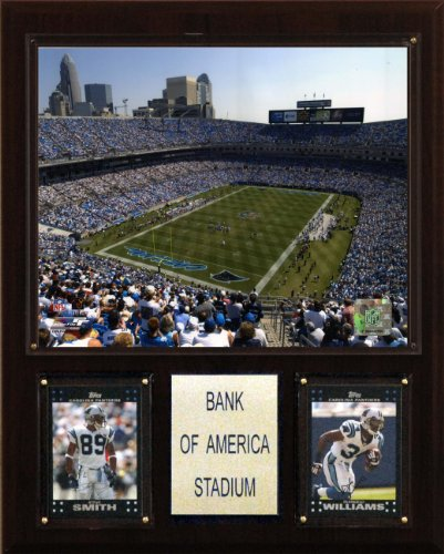 NFL Bank of America Stadium Plaque