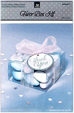Clear Favor Box Kit Amscan 340326