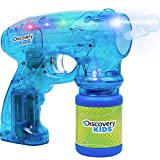 Click N' Play Translucent Bubble Blasting Gun with LED Flashing Lights and 1 Bubble Refill.
