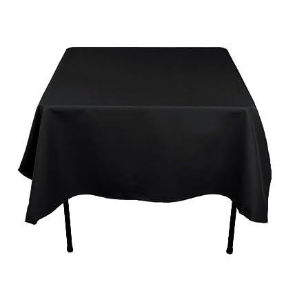 Superieur Gee Di Moda Square Tablecloth   70 X 70 Inch   Black Square Table Cloth For