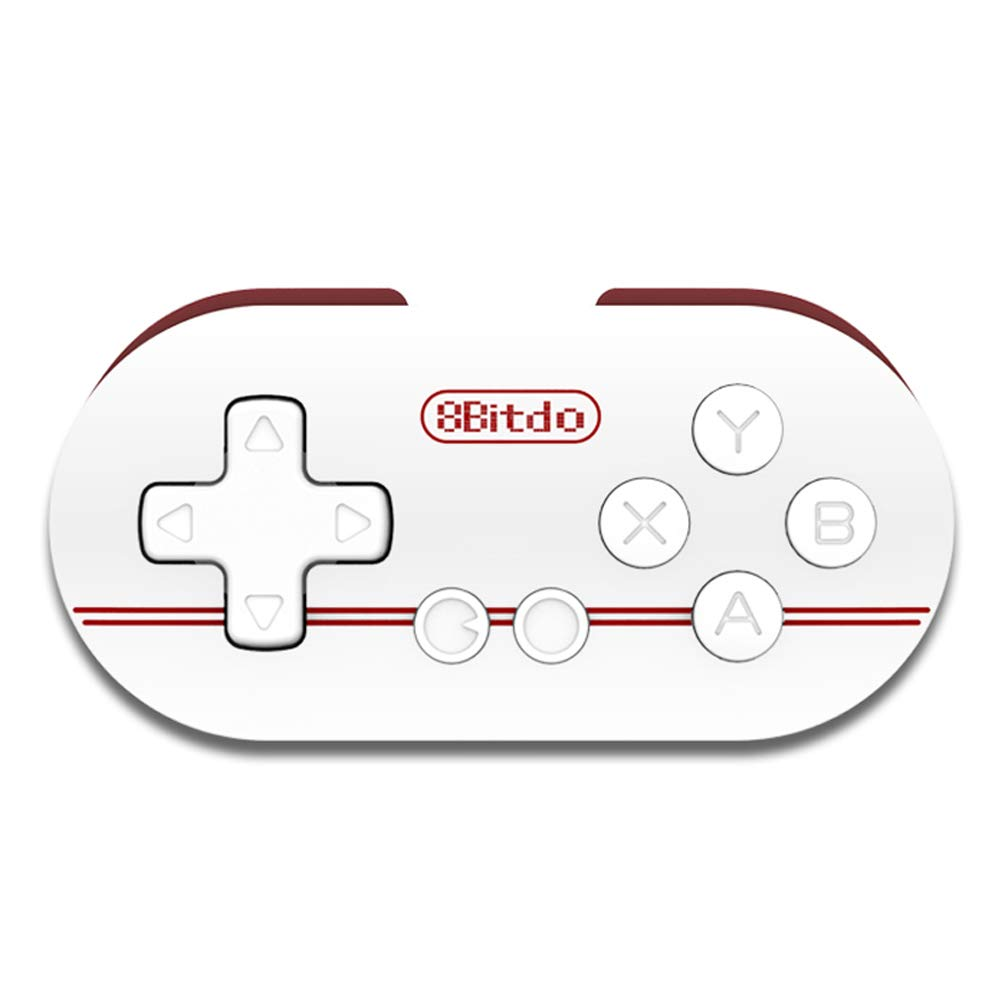 8Bitdo Zero Smallest Wireless Gamepad Mini Bluetooth Game Controller for  Android/iOS/ Windows/Mac OS (Red)