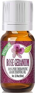 Rose Geranium Oil Repels Fleas
