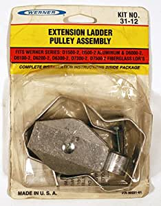 Werner Extension Ladder Pulley Assembly 31-12