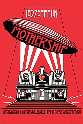 "Led Zeppelin Poster Mothership (24""x36"")"
