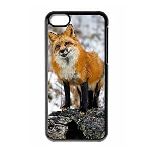 ALICASE Diy Hard Shell Case Fox For Iphone 6 (4.5) [Pattern-1]