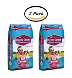 PACK OF 2 - Purina Puppy Chow Tender and Crunchy Puppy Food 32 lb. Bag