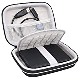 Lacdo Shockproof Hard Drive Carrying Case for