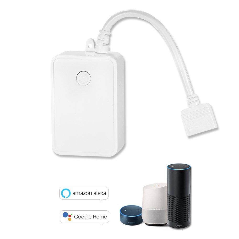 owsoo Mini Wifi RGBW LED de tira controlador de Smart Phone Control funciona con  Alexa Voice Control