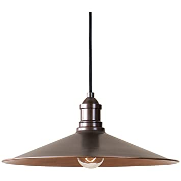 Amazon uttermost 22051 barnstead 1 pendant light copper uttermost 22051 barnstead 1 pendant light copper by uttermost mozeypictures Image collections