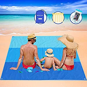 AWAVO Beach Blanket Picnic Mat...