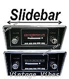 mustang car clock - Bluetooth Enabled 1971-1973 Mustang 300w Slidebar AM FM Car Stereo/Radio