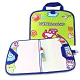 Z ZHIZU Portable Water Doodle Magic Mats Painting Writing Board ,Painting Doodle Water Mat Water Drawing Pen for Kids Doodle Learning Toy Educational Boys Girls Gift