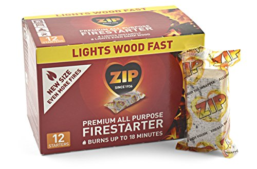 Zip Premium All Purpose Wrapped Fire Starter for this list of coolest camp Dutch oven accessories