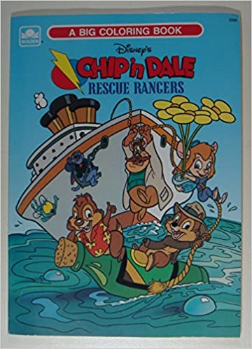 Disney\'s Chip \'n Dale Rescue Rangers (A Big Coloring Book ...