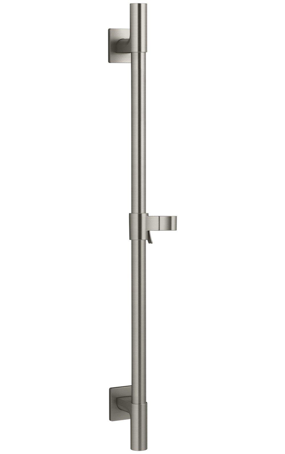 KOHLER K-98342-BN Awaken Deluxe 24-Inch Slide Bar, Vibrant Brushed Nickel