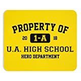 Threads Basket Property Of 1-A U.A. High School My Hero Academia Inspired Premium-Textured Mousepad for Laptop & Computer