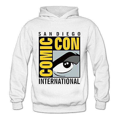 San Diego Comic-Con International Classic Women's Hooded Hoodies White S
