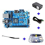 Original Banana Pi BPI M1 Plus A20 Dual Core 1GB RAM Open-source development board single board computer Raspberry pi compatible, Ship with Powerful Accessories