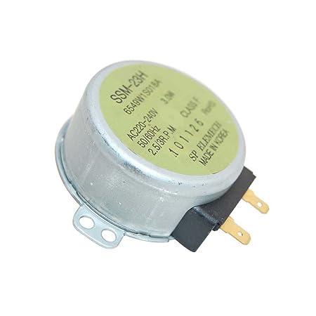 Tocadiscos Motor para Siemens apta para microondas ...
