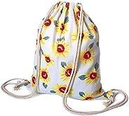 DANUC Gym Sack Bag Drawstring Backpack Sport Bag for Men & Women School Travel Back