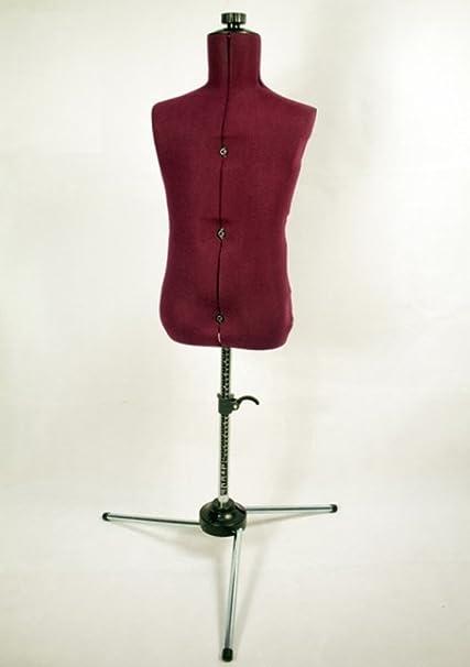 Delicieux Amazon.com: Family Adjustable Child Size Maroon Nylon Mannequin Dress Form:  Home U0026 Kitchen