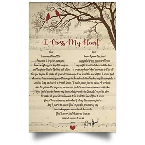 Custom Cosmos I Cross My Heart Song Lyrics