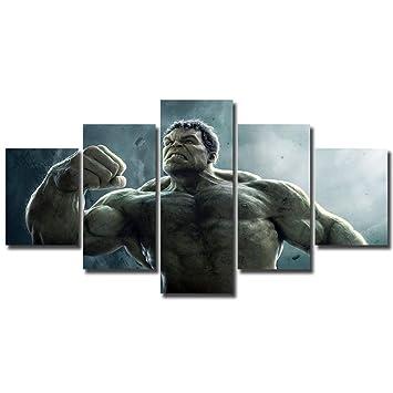 The Incredible Hulk Poster Print Or the Hulk Canvas Art Wall Art Marvel Art Hulk