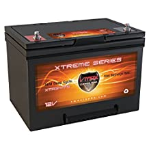 VMAX XTR34-75 12V 75Ah Group 34 AGM Deep Cycle Maintenance Free Battery for Permobil C350 Corpus 3G