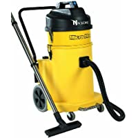 NaceCare NVQ900H Hazardous Dust HEPA Vacuum, 12 Gallon Capacity, 1.6HP, 114 CFM Airflow, 42 Power Cord Length