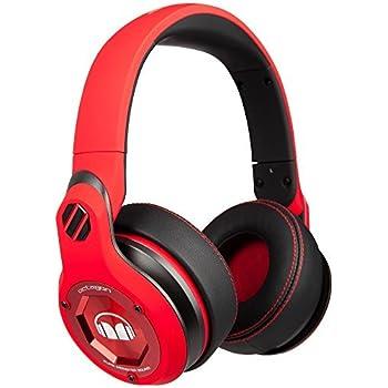 Monster Octagon Over-Ear Headphones - Red