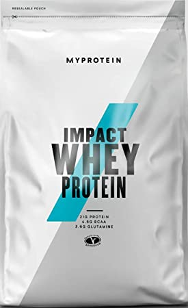 Myprotein Impact Whey Protein - 1 Unidad, 1000 g [empaque puede variar]