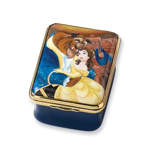 Bilston and Battersea Enamels Disney Beauty and The Beast Box