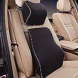 DPIST® Home Premium Memory Foam Car Lumbar Cushion & Car ...
