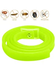KOBWA Pet Flea Collar,Natural Herbal Flea and Tick Control Collar for Dogs and Cat,Stops Bites & Itching, Kills Repels Mosquitoes, Ticks,Keep Your Pet Healthy - Lemon Odor