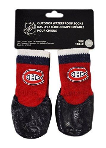 Hunter NHL HBPF0791 Montreal - Calcetines de goma para mascotas