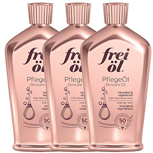 3 pack frei Oel Scars, Stretch Marks & Pigmented Spot Reducer Skincare Oil (125 ml)