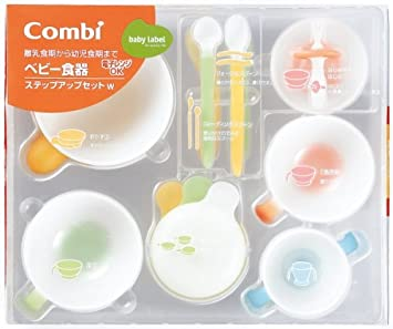 Combi Baby Labal feeding step up set (japan import)