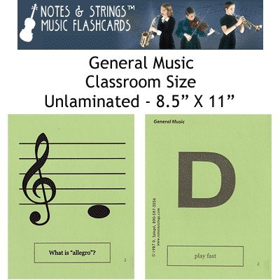 Notes & Strings General Music 8.5