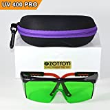 Zotron LED Grow Light Color Correction Safety Glasses with FREE Bonus Case for Indoor Gardens, Greenhouses, Hydroponics, Protective Eyewear against UV, IR Rays, Best for LED Grow Rooms For Sale