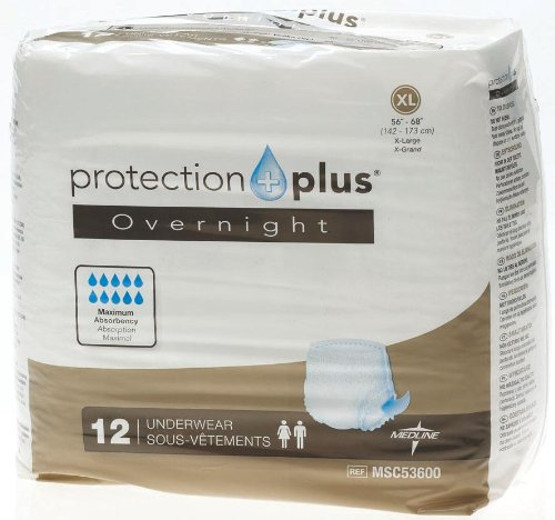Medline Protection Overnight Protective Absorbency
