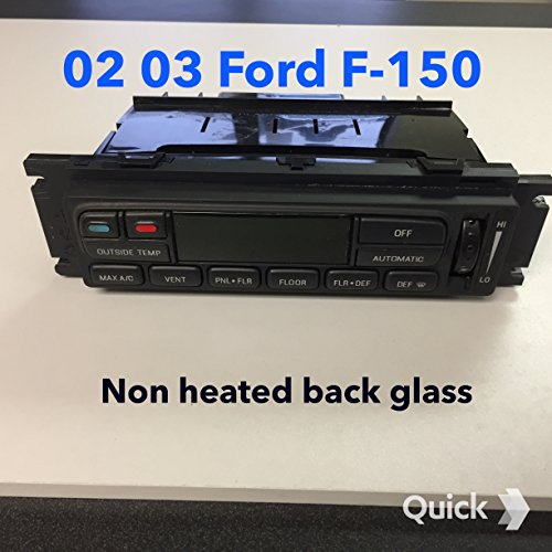Climate Ford Control (Ford F150 Climate Control 2L3H-19C933-AA Remanufactured)