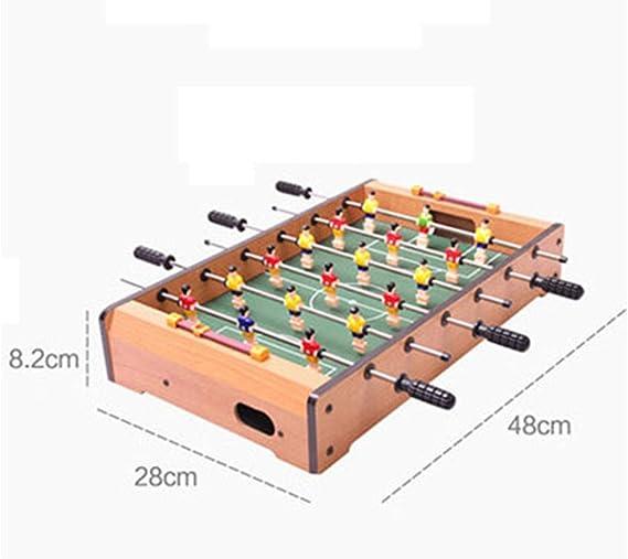 Mesa de fútbol para niños Juguetes educativos para niños Juguete educativo para niños de 3-10 años de edad Regalo de 6 asientos Máquina de mesa de fútbol para regalo Máquina de juego