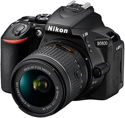 51 9jh W90L. AC  - Nikon D5600 Digital SLR Camera & 18-55mm VR DX AF-P Lens - (Renewed)