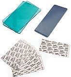 Sizzix Sidekick Accessories Bundle - Aqua Cutting Pads, Adhesive Sheets and Embossing Pad - 3 Items