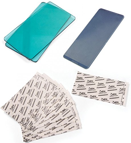 Sizzix Sidekick Accessories Bundle - Aqua Cutting Pads, Adhesive Sheets and Embossing Pad - 3 Items by Sizzix Sidekick