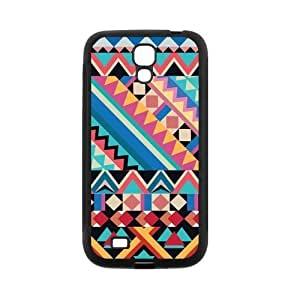 Aztec Andes Tribal Pattern Protective Rubber Back Fits Cover Case for SamSung Galaxy S4 WANGJING JINDA