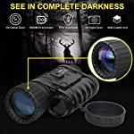Infrared HD Night Vision Monocular with WiFi,Bestguarder WG-50 Plus with 32G TF Card,6-30X50MM Smart Digital Hunting Gear Can Takes 5mp Photo 720 Video from 1300ft Distance in Complete Darkness